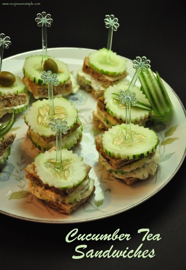 Cucumber Sandwiches – Tea Sandwiches – Refreshing