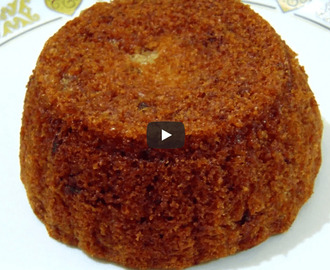 Eggless Date Cake Recipe Video