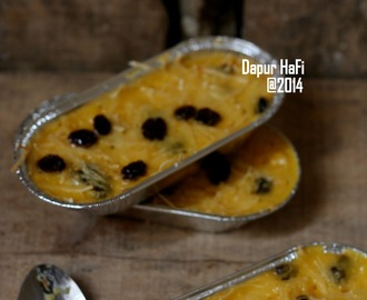 sweet corn custard pudding