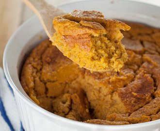 NATURALLY GLUTEN FREE SWEET POTATO SPOON BREAD