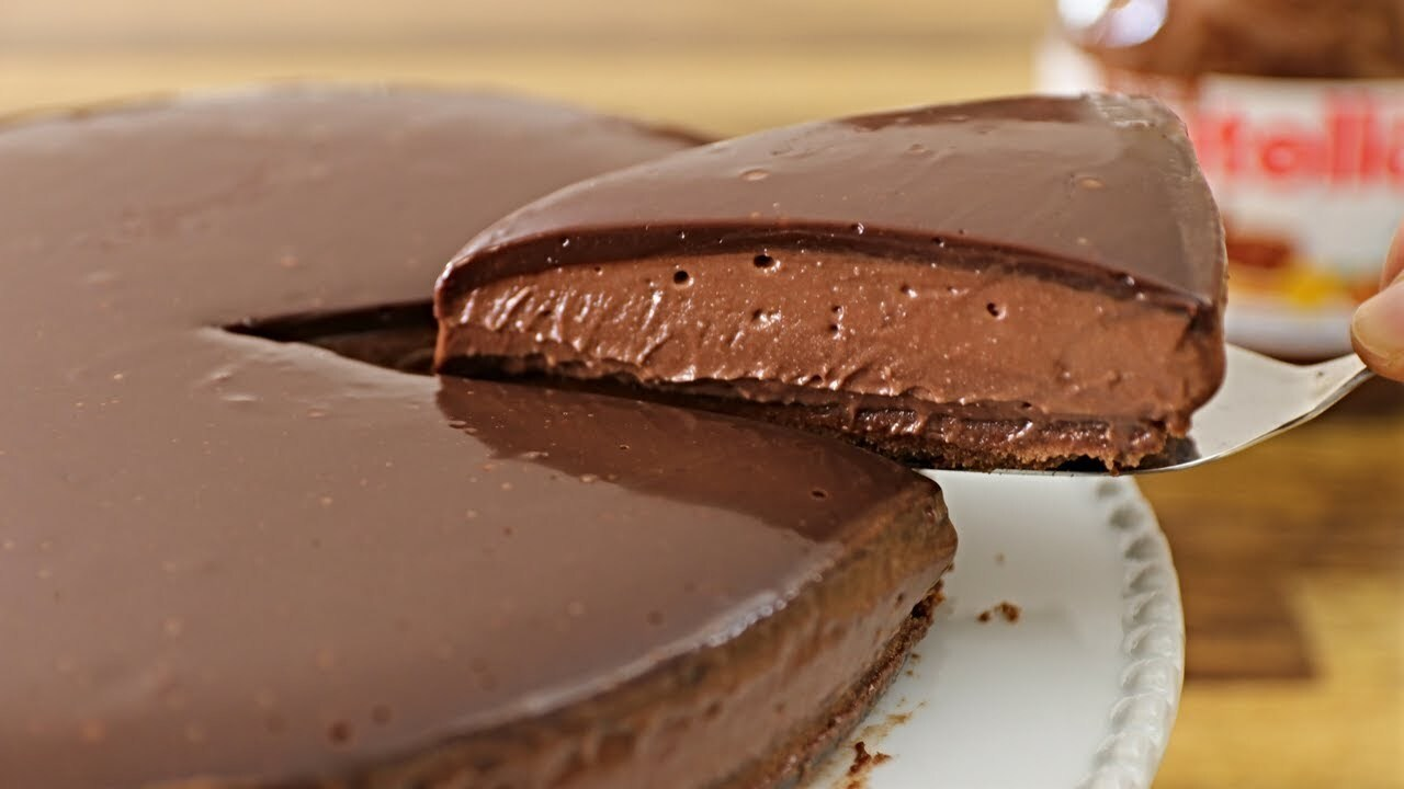No-Bake Nutella Cheesecake Recipe