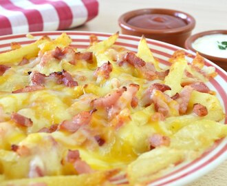 Patatas Fritas Estilo Foster´s Hollywood | Bacon Cheese Fries
