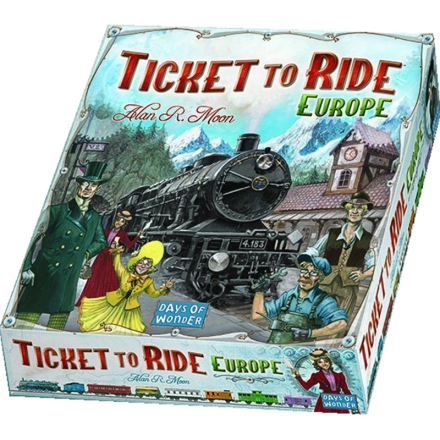 Days of WonderTicket to Ride, Sällskapsspel, Europa