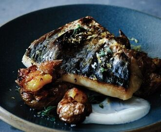 Mackerel with Crushed Potatoes and Oregano | Recipe | Fish recipes healthy, Oregano recipes, Fish recipes