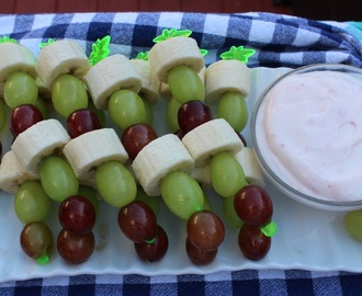 Snack Time Fruit on a Stick /#15 Minute Friday