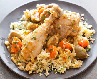 Moroccan Chicken with Olives and Lemon (Chicken Tagine)