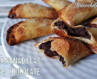 EMPANADILLAS DE CHOCOLATE AL HORNO