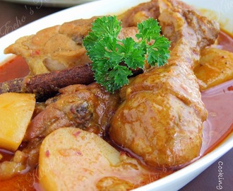 Malaysian Chicken Curry #2