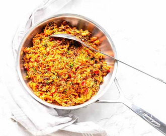 Spanish Rice With Ground Beef