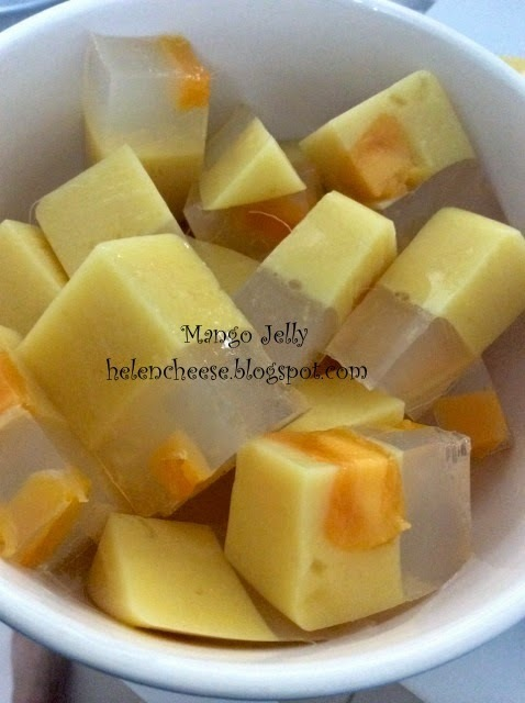 Mango Yogurt Jelly 芒果菜燕
