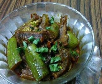 Brinjal Dry Fish Curry