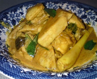 Chicken Curry with Yam