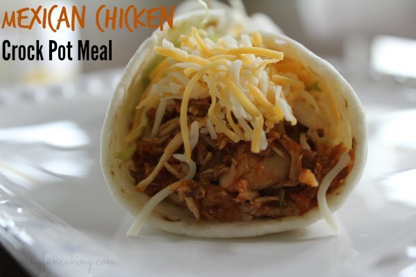 Mexican Chicken – Freezer to Crock Pot Meal