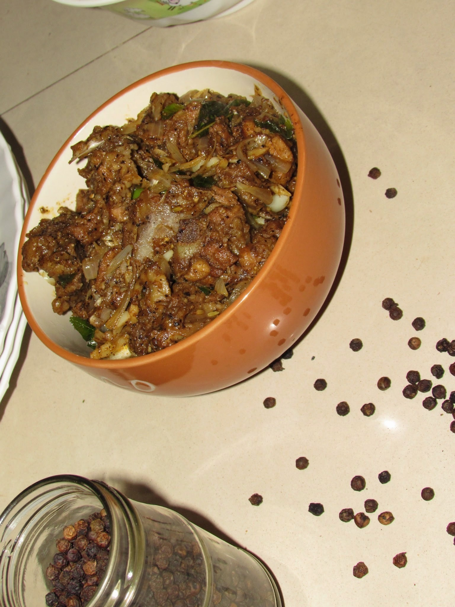 Mutton pepper fry | Mutton milagu varuval (Simple method)