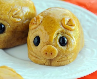 Piggy Mooncake ~~ Happy Mooncake Festival!