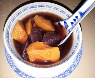 SWEET POTATOES WITH SAGO DESSERT