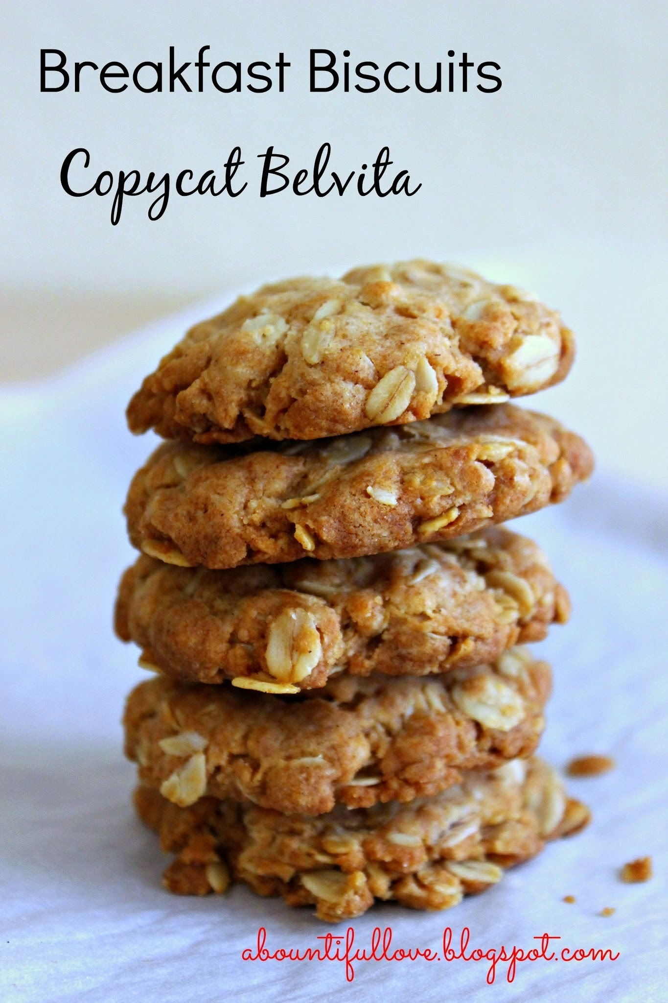 Breakfast Biscuits Copycat Belvita