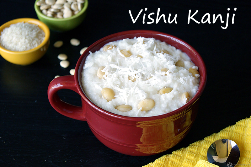 Vishu Kanji | Rice and Coconut Porridge