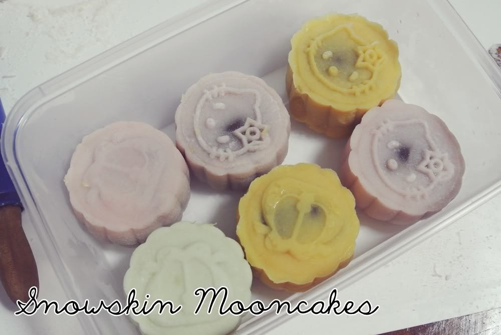 Snowskin Mooncake Making