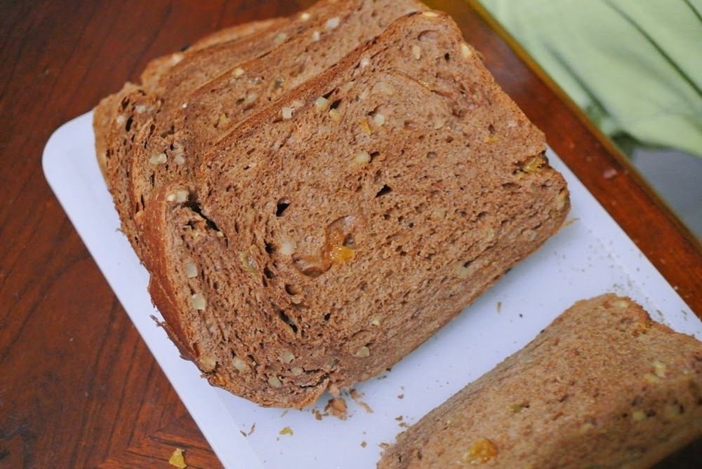 Chocolate Wholemeal Bread