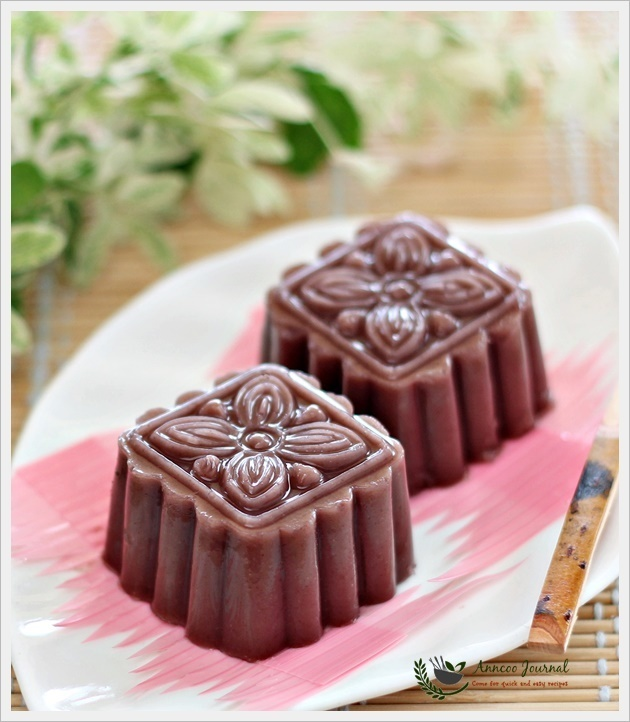 Easy Red Bean Jelly 简易红豆糕