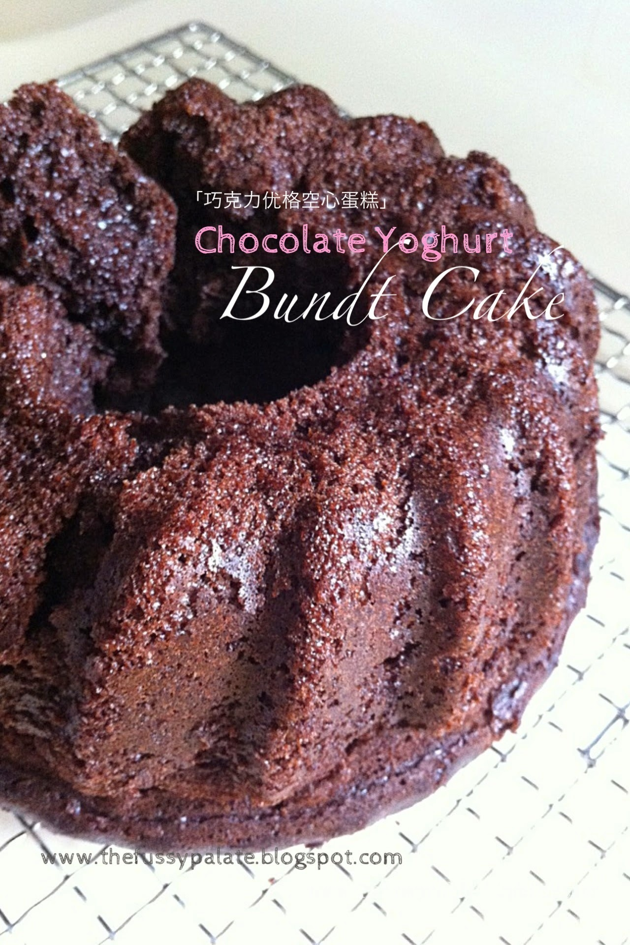 Chocolate Yoghurt Bundt Cake