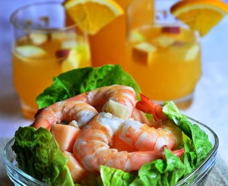 苹果蜜瓜与虾沙拉 Apple, Melon and Prawn Salad