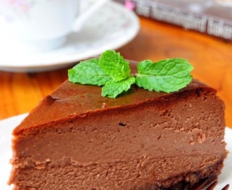 Chocolate Cheesecake (Baked)