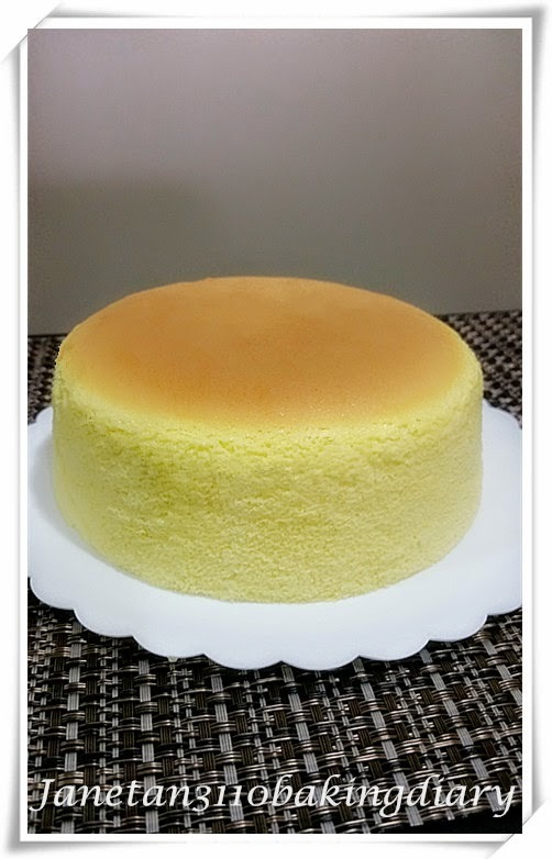 百香果轻乳酪蛋糕 / Passion Fruit Cotton Cheesecake