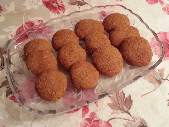 Marie's Old Fashioned  Molasses Cookies (Also Great Gluten Free!)