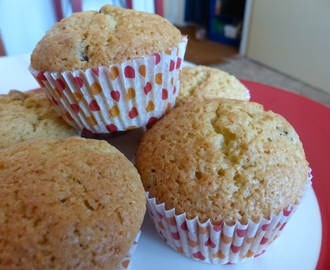Fresh Orange Muffins (with Raisins)