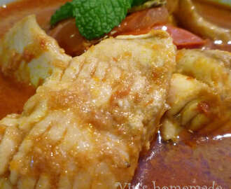 Asam Pedas Stingray 亚叁浦鱼 - Featured in Group Recipes