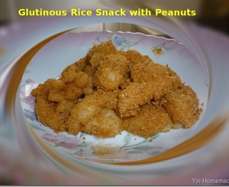 Muah Chee ( Glutinous/Sticky Rice snack with Peanut) 花生芝麻糍粑