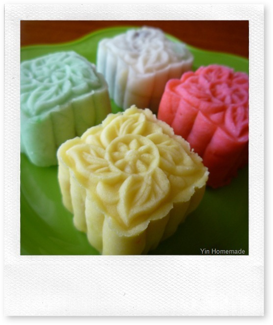 Easy-to-make Snow Skin Mooncake