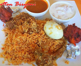 MUTTON BIRYANI / SPICY MUTTON BIRYANI / BIRYANI RECIPES