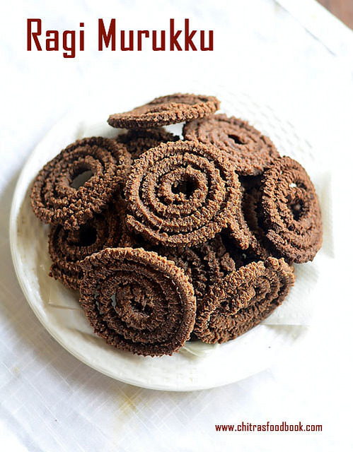 Ragi Murukku – Ragi Chakli – Finger Millet Recipes