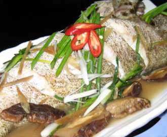 Resep Chinese Food : Tim Ikan Kerapu