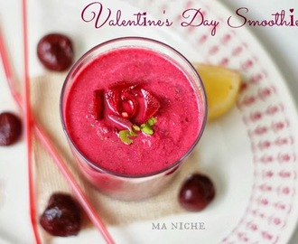 Roasted Beet, Cherry and Apple Smoothie