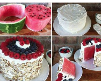 Comment on No Bake Watermelon Cake Recipe by Marsha R. Sumal