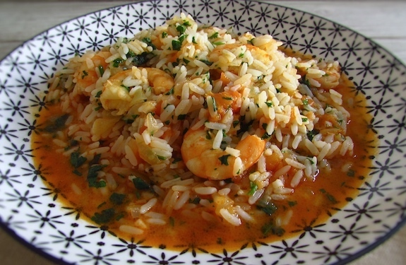 Rice with shrimp | Food From Portugal