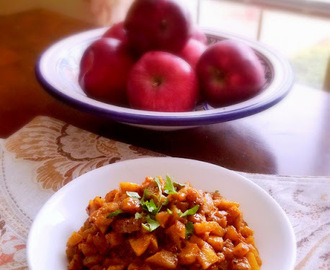 Apple Curry, Kashmiri Style