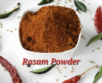 Rasam Powder in Kannada | Marriage Style Rasam Powder | Rekha Aduge