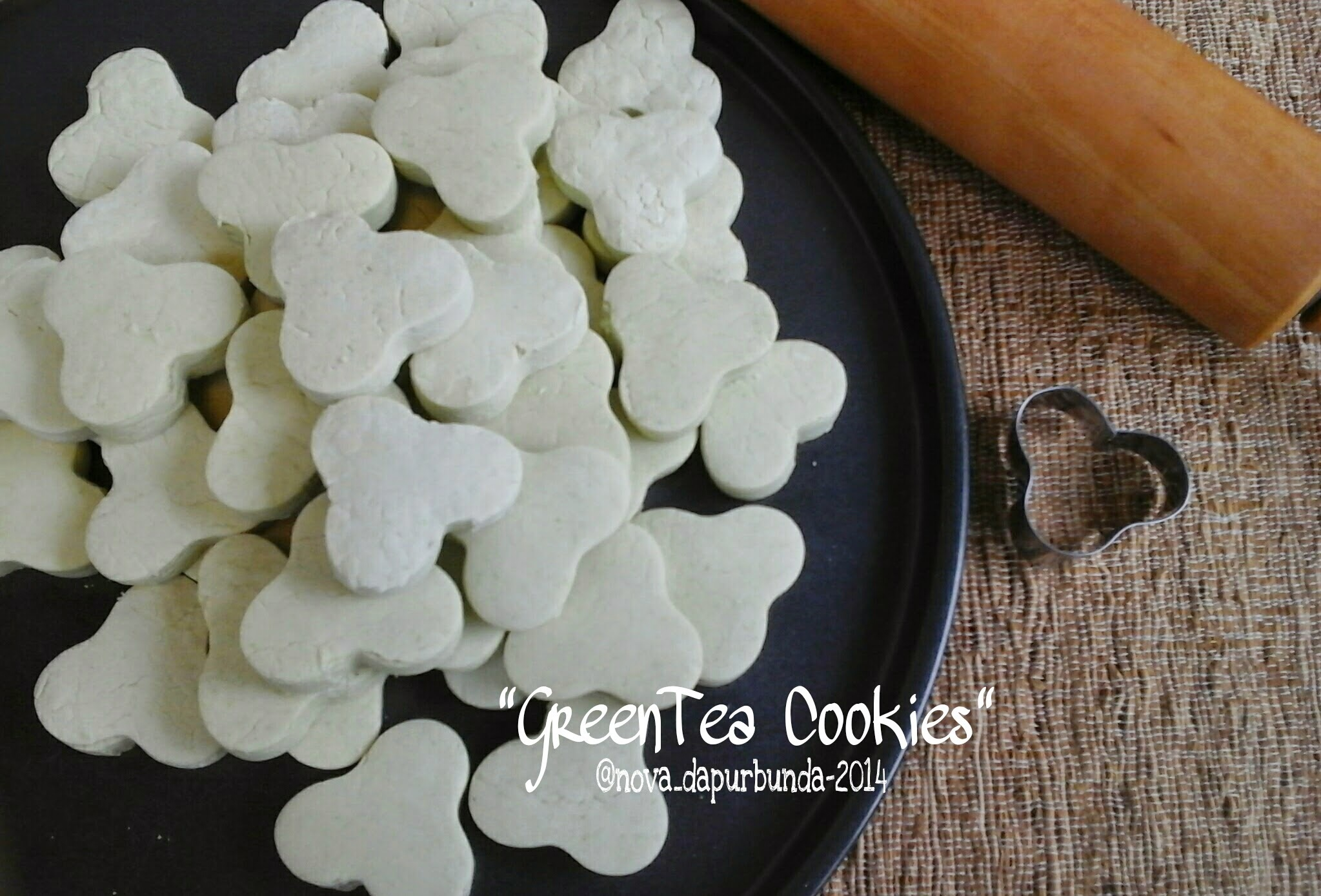 """Green Tea Cookies"""