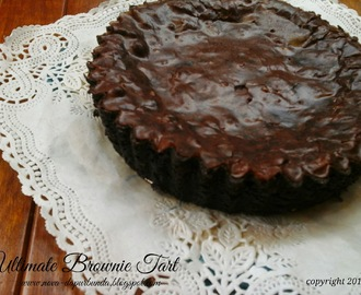 "NCC Brownies Week : ""Ultimate Brownie Tart"""