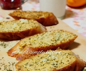 Resep Garlic Cheese Bread Mudah