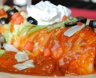 Authentic Mexican Wet Burrito Recipe