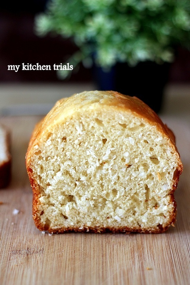 Coconut bread – quick bread