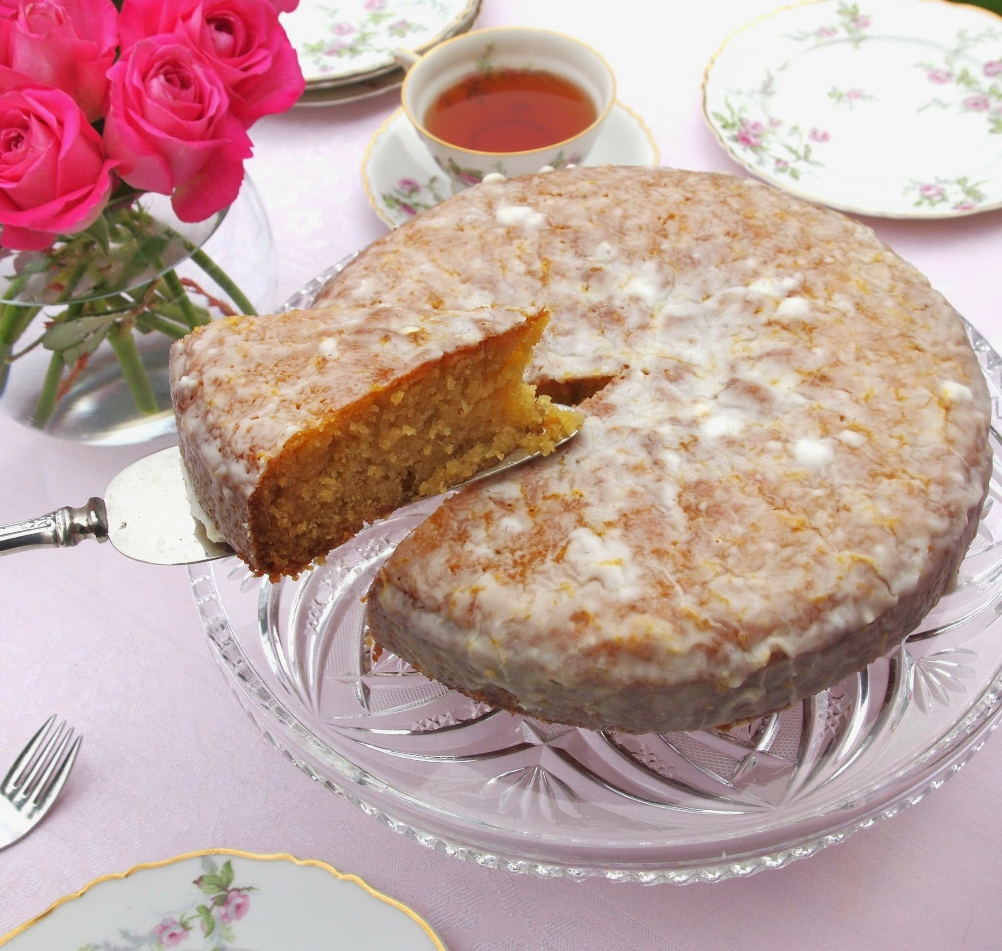 Lemon Cornmeal Cake