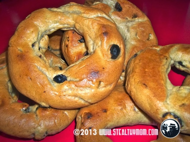 Timmie's Cinnamon Raisin Bagels (Homemade Version)