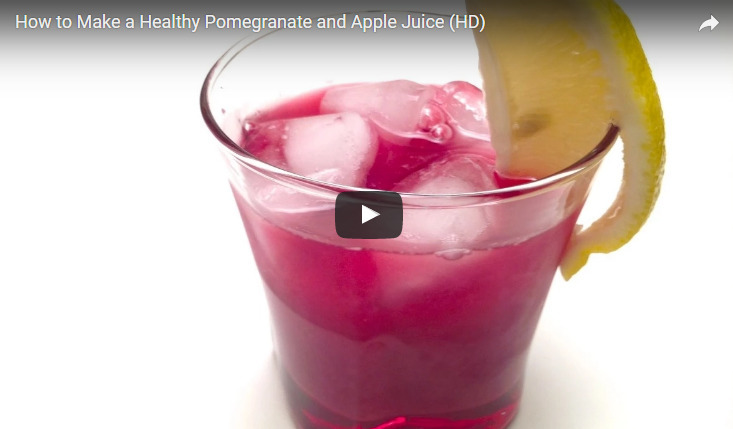 Apple Pomegranate Juice Recipe Video